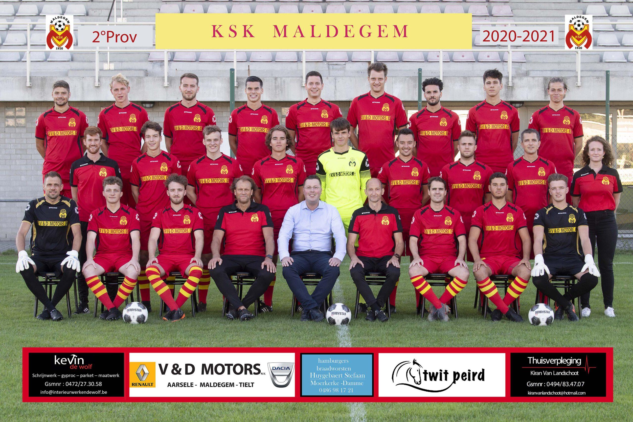 250820 / Voetbal / KSK Maldegem /